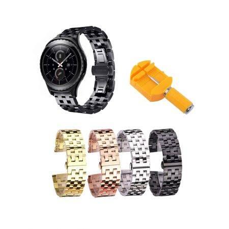 خرید بند ساعت هوشمند سامسونگ Gear S2 Classic استیل 5Bead