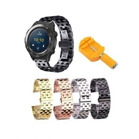 خرید بند ساعت هوشمند هواوی Huawei Watch 2 Sport استیل 5Bead