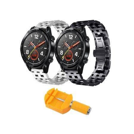 خرید بند استیل ساعت هواوی واچ Huawei Watch GT مدل 5Bead
