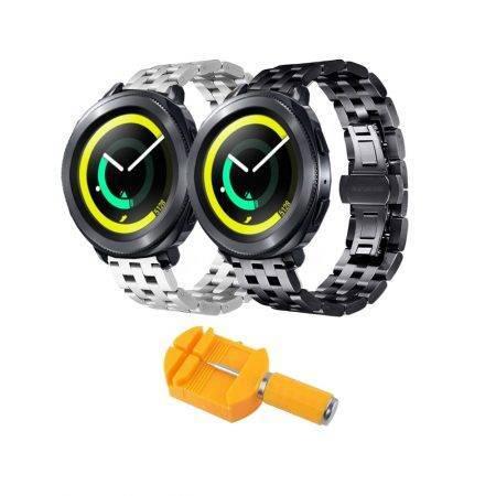 خرید بند ساعت هوشمند سامسونگ Gear Sport استیل 5Bead