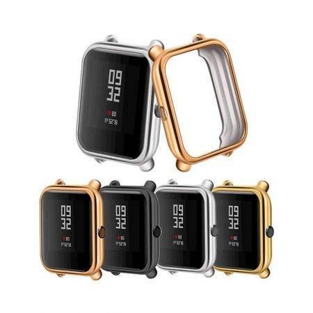 خرید قاب محافظ ساعت هوشمند شیائومی Amazfit Bip مدل ژله ای