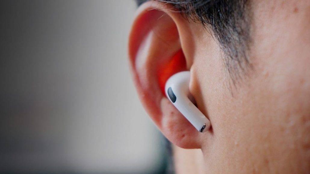 ایرپاد پرو داخل گوش