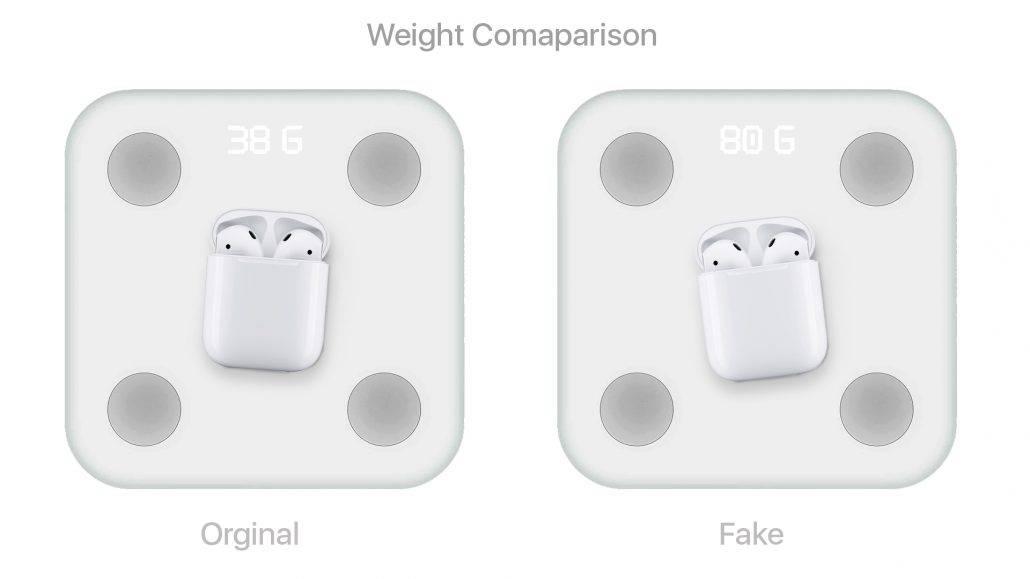 نحوه  تشخیص ایرپاد اصل و تقلبی از روی وزن