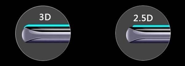 تفاوت گلس 2.5d و 3d