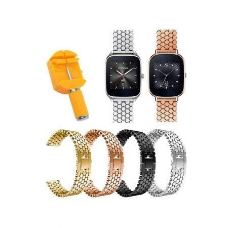 خرید بند استیل ساعت ایسوس ZenWatch 2 WI501Q طرح کندویی