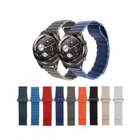 خرید بند چرمی ساعت هواوی Huawei Watch 2 Classic مدل leather loop