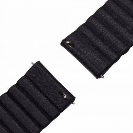 خرید بند چرمی ساعت موتورولا موتو Moto 360 46mm مدل leather loop
