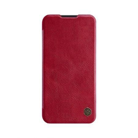 خرید کیف چرمی نیلکین گوشی سامسونگ Samsung Galaxy A01 مدل Qin