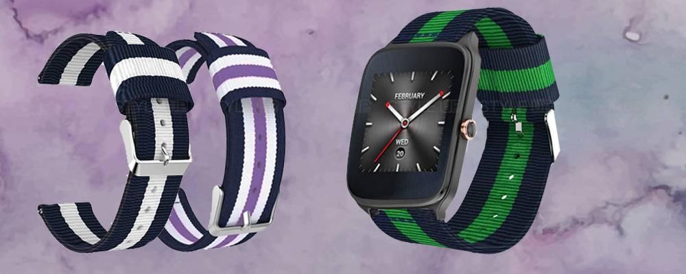 خرید بند ساعت هوشمند ایسوس Zenwatch 2 WI501Q مدل نایلونی
