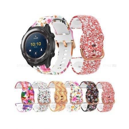 خرید بند ساعت هواوی Huawei Watch 2 Sport سیلیکونی طرحدار
