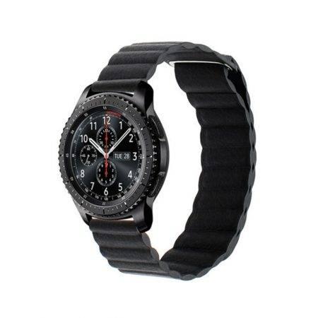 خرید بند چرمی ساعت سامسونگ Samsung Gear S3 مدل leather loop