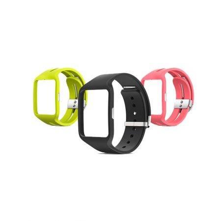 خرید بند ساعت هوشمند سونی Sony SmartWatch 3 SWR50 مدل سیلیکونی