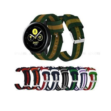 خرید بند ساعت هوشمند سامسونگ Galaxy Watch Active مدل نایلونی