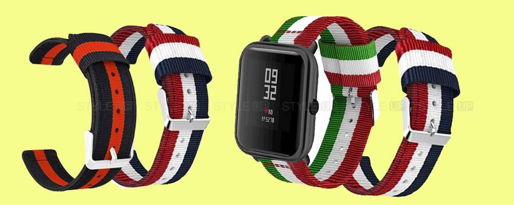 خرید بند ساعت هوشمند شیائومی Xiaomi Amazfit Bip مدل نایلونی
