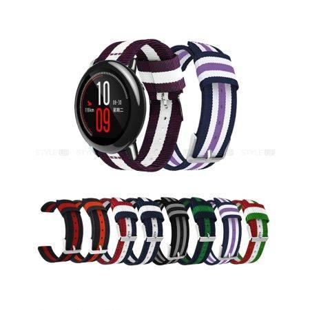 خرید بند ساعت هوشمند شیائومی Amazfit Pace مدل نایلونی