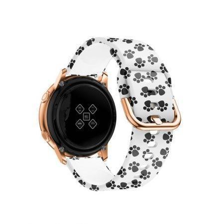 خرید بند ساعت سامسونگ 2 Galaxy Watch Active سیلیکونی طرحدار