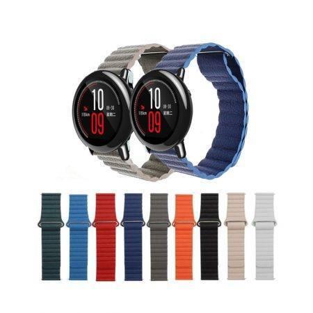 خرید بند چرمی ساعت هوشمند شیائومی Amazfit Pace مدل leather loop