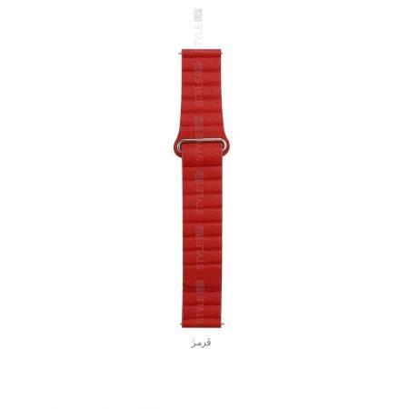خرید بند چرمی ساعت سامسونگ Galaxy Watch 42mm مدل Leather Loop
