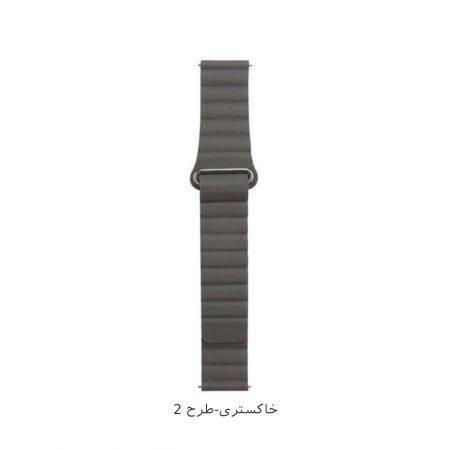 خرید بند چرمی ساعت سامسونگ 2 Galaxy Watch Active مدل Leather Loop