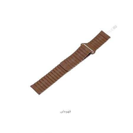 خرید بند چرمی ساعت سامسونگ Galaxy Watch Active مدل Leather Loop
