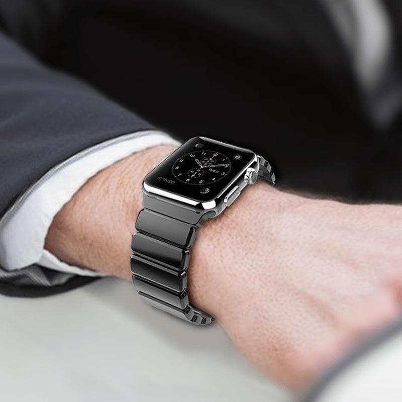 بند استیل ساعت هوشمند.