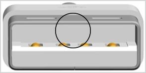 قسمت داخلی یو اس بی شارژر آیفون