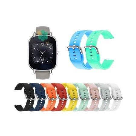 خرید بند ساعت ایسوس Asus Zenwatch 2 Wi501Q مدل سیلیکونی نرم