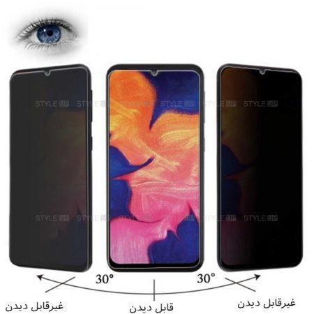 خرید محافظ گلس پرایوسی گوشی سامسونگ Samsung Galaxy A10