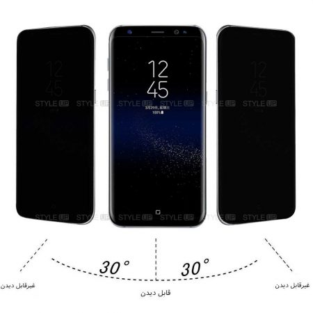 خرید محافظ گلس پرایوسی گوشی سامسونگ Samsung Galaxy A30s