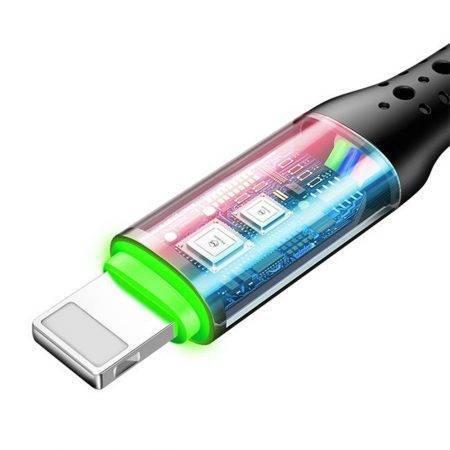 خرید کابل شارژر هوشمند لایتنینگ Mcdodo Auto Power Off Data Cable