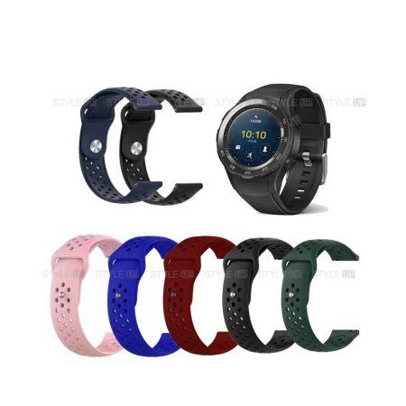 خرید بند سیلیکونی ساعت هواوی واچ Huawei Watch 2 Sport مدل Nike