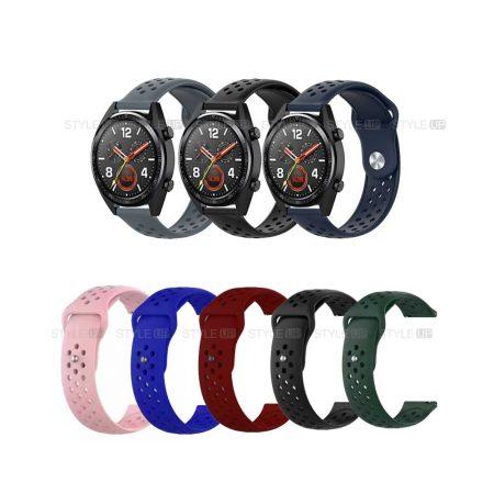 خرید بند سیلیکونی ساعت هواوی واچ Huawei Watch GT مدل Nike