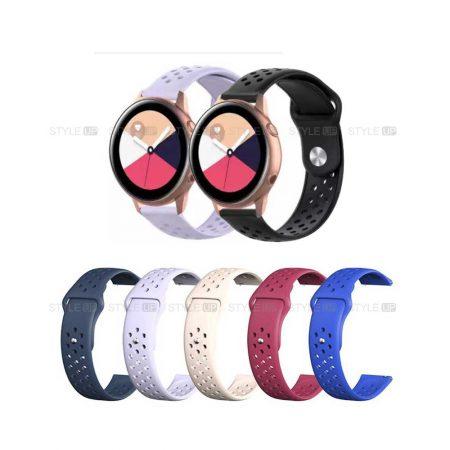 خرید بند سیلیکونی ساعت سامسونگ Galaxy Watch Active مدل Nike