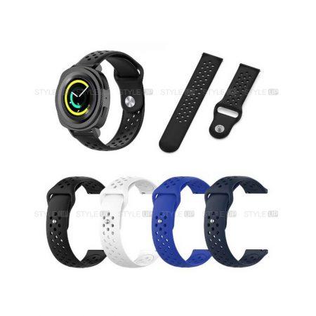 خرید بند سیلیکونی ساعت سامسونگ Samsung Gear Sport مدل Nike