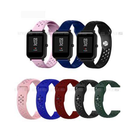 خرید بند سیلیکونی ساعت هوشمند شیائومی Amazfit Bip مدل Nike