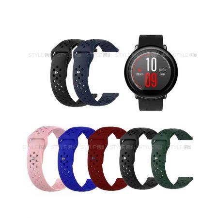 خرید بند سیلیکونی ساعت شیائومی Xiaomi Amazfit Pace مدل Nike