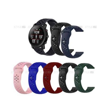 خرید بند سیلیکونی ساعت شیائومی Amazfit Stratos مدل Nike