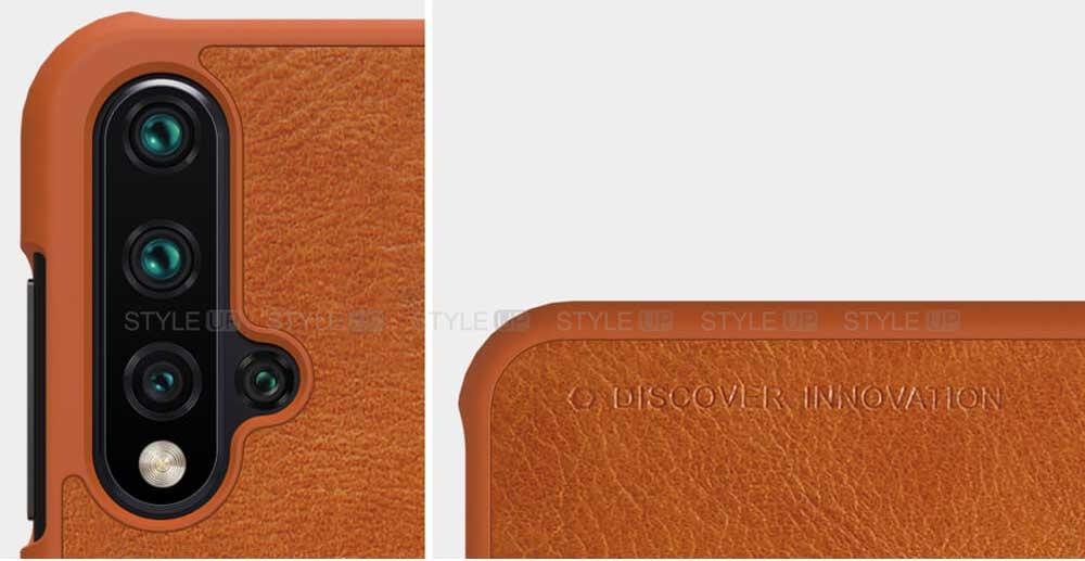 خرید کیف چرمی نیلکین گوشی هواوی Huawei nova 5 / nova 5 Pro مدل Qin
