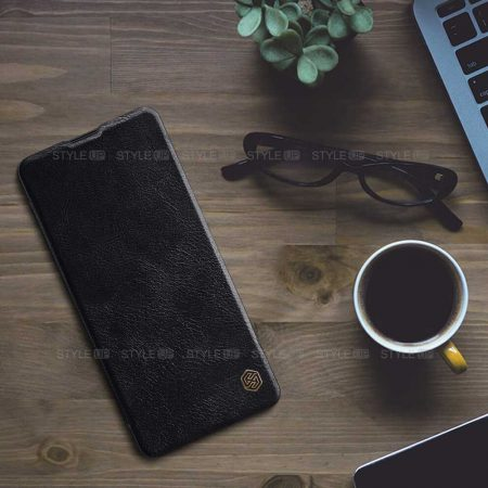 خرید کیف چرمی نیلکین گوشی سامسونگ Galaxy Note 10 Lite مدل Qin