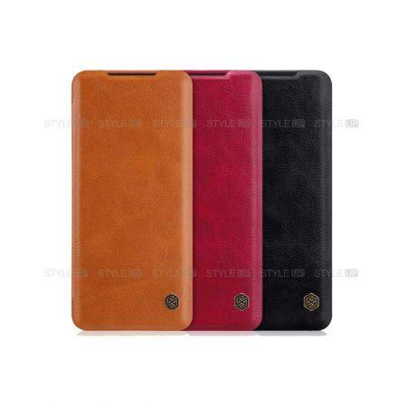 خرید کیف چرمی نیلکین گوشی سامسونگ Samsung Galaxy S20 مدل Qin