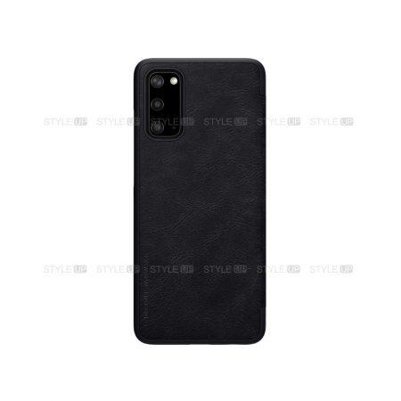 خرید کیف چرمی نیلکین گوشی سامسونگ Galaxy S20 5G مدل Qin