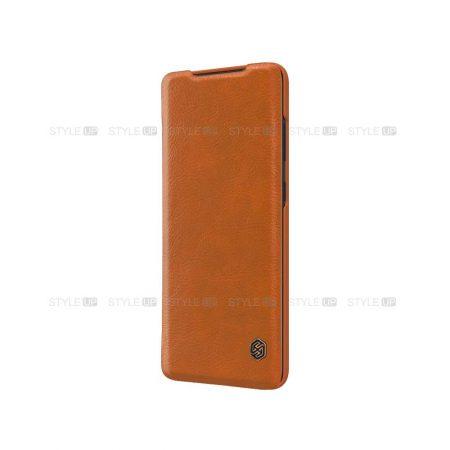 خرید کیف چرمی نیلکین گوشی سامسونگ Samsung Galaxy S20 Plus مدل Qin