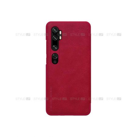 خرید کیف چرمی نیلکین گوشی شیائومی Xiaomi Mi Note 10 Pro مدل Qin