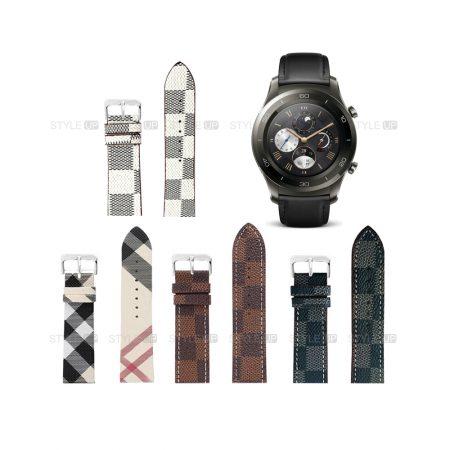 خرید بند ساعت هواوی واچ Huawei Watch 2 Classic طرح لویی ویتون