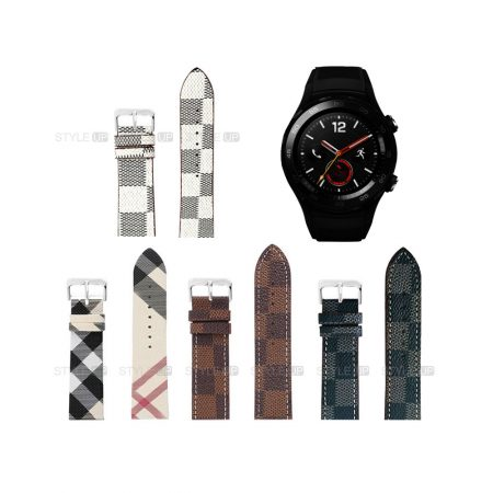 خرید بند ساعت هواوی واچ Huawei Watch 2 Sport طرح لویی ویتون