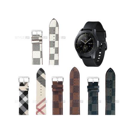 خرید بند ساعت سامسونگ Galaxy Watch 42mm طرح لویی ویتون