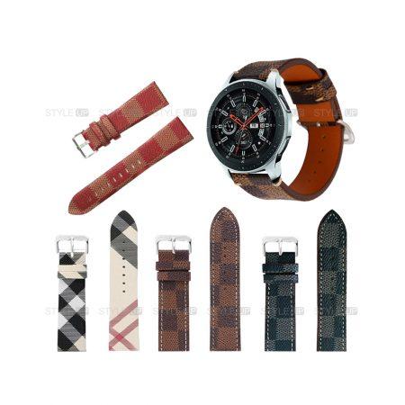 خرید بند ساعت سامسونگ Samsung Galaxy Watch 46mm طرح لویی ویتون
