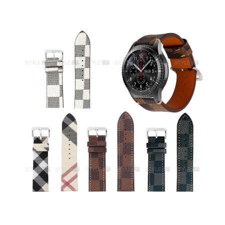 خرید بند ساعت سامسونگ Samsung Gear S3 طرح لویی ویتون