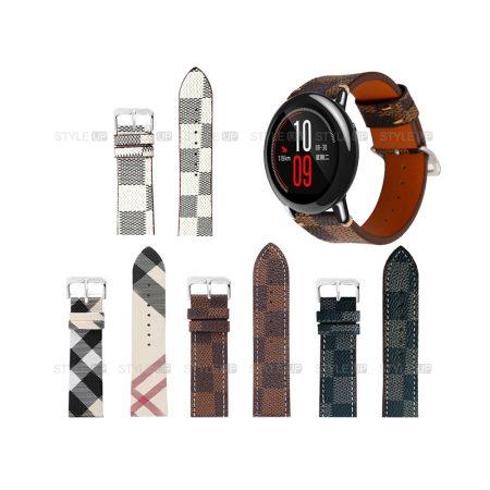 خرید بند ساعت شیائومی Xiaomi Amazfit Pace طرح لویی ویتون