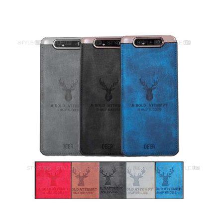 خرید قاب گوشی سامسونگ Galaxy A80 / A90 پارچه ای طرح گوزن